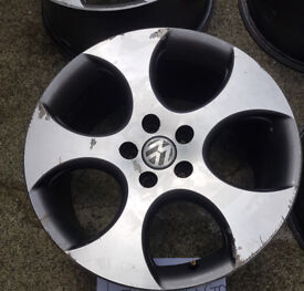 "VW Golf 18"" Genuine Monza Alloy Wheels"