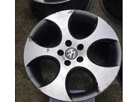 "VW Golf 18"" Genuine Monza Alloy Wheels"