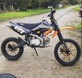 Stomp 140cc Pit bike Big Wheel Upgrade