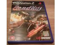 Roadkill PS2 - Good Condition - Video Game