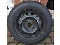 2003 Vauxhall Corsa Spare Wheel AND Tyre 175x65x14 ONE ONLY