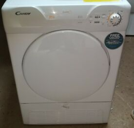 CANDY 8KG CONDENSER TUMBLE DRYER IN GOOD WORKING ORDER
