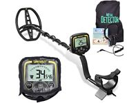 Professional Lightweight Metal Detector, with 11 Inch Waterproof Coil & Headphone, Max 1.5m Depth