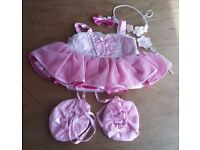 New Build a Bear Ballerina Costume/ Outfit