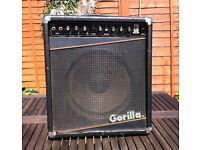 Gorilla GG 110 150Watt Guitar Amp. Combo with Reverb.
