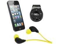 KitSound Active Plus Sport Bluetooth Wireless Clip with Stereo In-Ear Earphones .