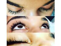 Professional semi permanent eyelash extensions from £35