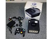 Boxed Nintendo Gamecube Console, Black