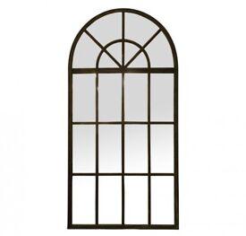 Floor Length Window Antique Mirror