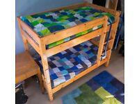 Solid pine Thuka shorty bunkbed