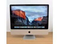 """Mid 2007 24"""" iMac 2.8GHz Core 2 Duo Extreme 4GB 500GB HDD"""