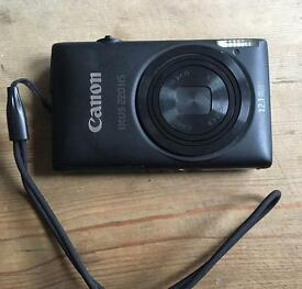 Canon IXUS 220HS with case & 2GB SD Card