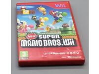Nintendo Wii Super Mario Bros Game