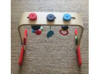 Wooden IKEA LEKA baby gym (excellent condition)
