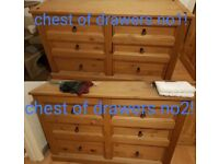 Chest Of Drawers X2 !!!