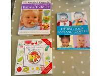 Baby and Toddler Meal Planner / Feeding Books (Annabel Karmel)