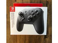 New Nintendo Switch Pro Controller - Black - WS14