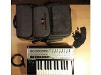 Novation Remote 25 SL MK2 / MKII USB MIDI Controller Keyboard + GIGBAG