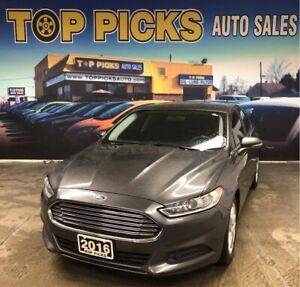 2016 Ford Fusion SE, Navigation, Alloy Wheels, Accident Free!