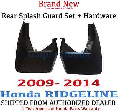 Genuine OEM Honda Ridgeline Rear Splash Guards 2009-2014 (08P09-SJC-100A)