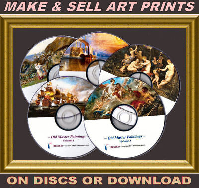 Ultimate Old Masters Print-making Package - Uniquely-enhanced Master-image Sets