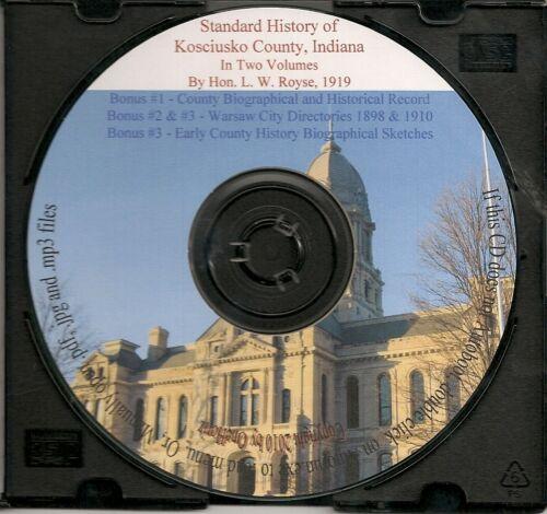 Kosciusko County Indiana History + Bonus Books