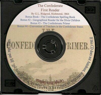 Confederate Primer + Reader for the Dixie Children