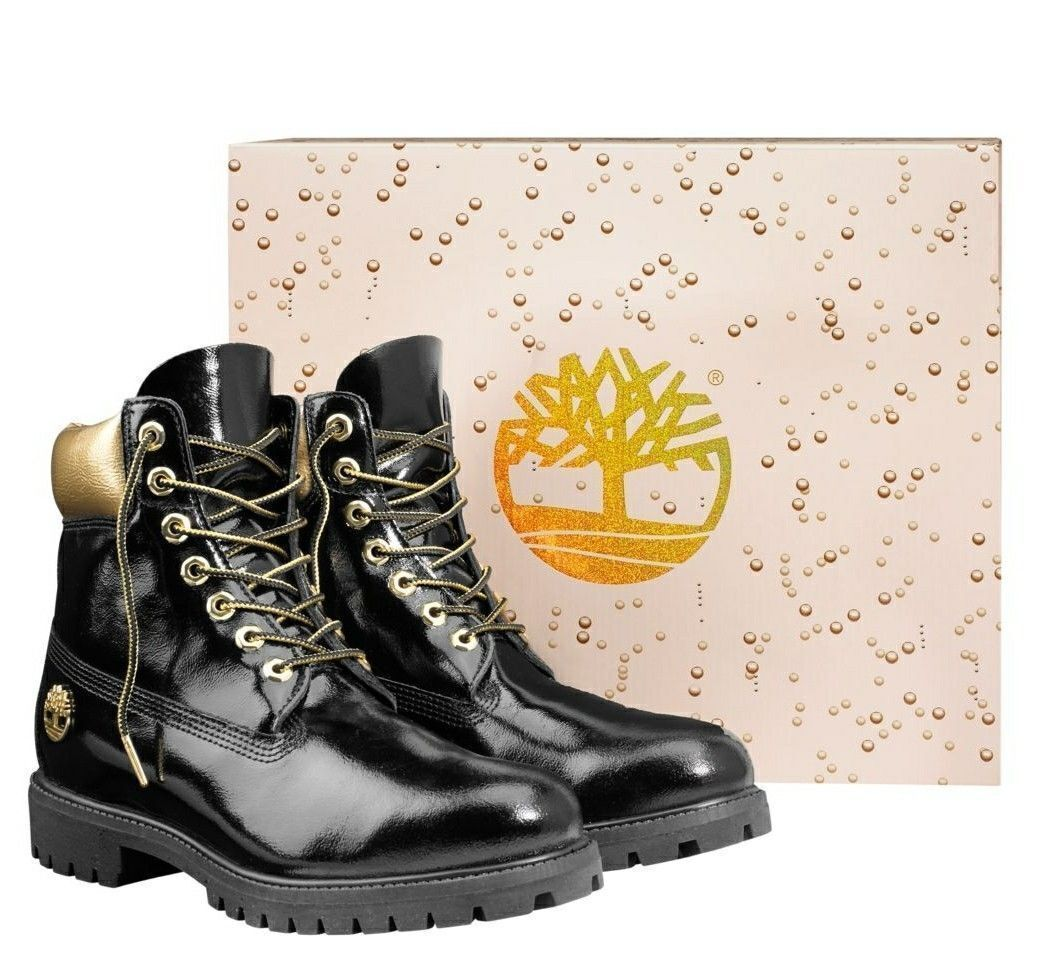 """Timberland Mens Premium Limited Edition 6"""" Inch Champagne Bo"""