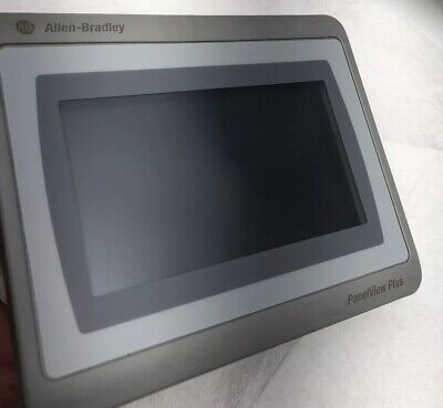 New Allen-bradley Panelview Plus 7 400 Hmi 24vdc Ethernet 2711p-t4w21d8s Color