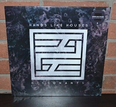 Hands Like Houses   Dissonants Limited 1St Press Colored Vinyl   Full Cd New