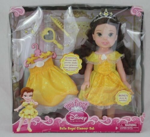 My First Disney Princess Belle Royal Glamour Set New NIB Christmas Birthday Gift