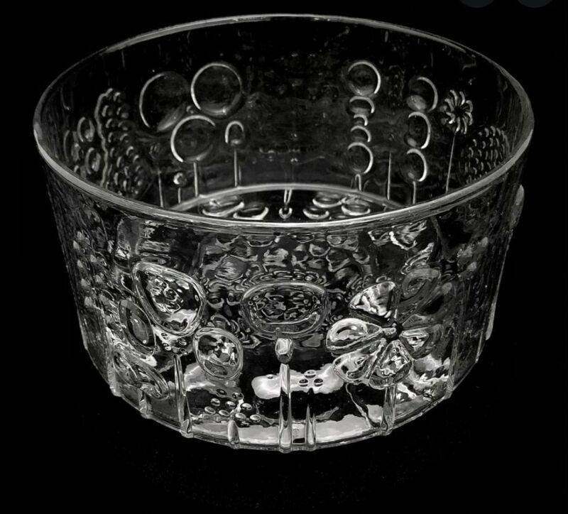 🔶️NUUTAJARVI ARABIA FINLAND FLORA BOWL OIVA TOIKKA MCM DANISH MODERN GLASS