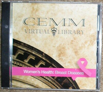 Womens Health  Breast Diseases   Cancer  Cd Rom By Air Force Surgeon General