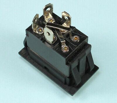 Momentary Black Rocker Switch For Polarity Reversing Dc Motor On Off On