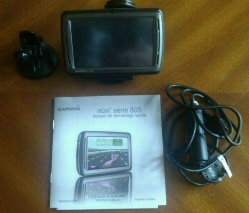 Garmin Nuvi 805 - Great Condition - One Owner - Only Used a Few Times