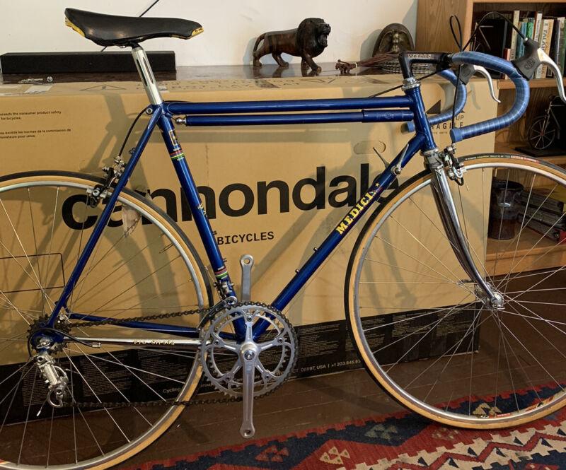 Medici USA Made  Pro Strada 55cm Campagnolo Vintage Road Bike VGC TURBO