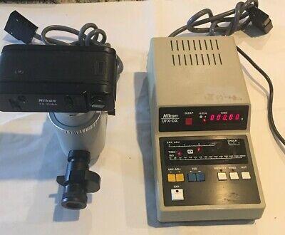 Nikon Ufx-ii Lab Microscope Ufx-dx Micro. Camera Controller Fx-35wa More...