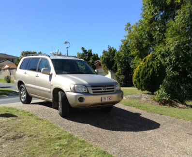 2005 Toyota Kluger Cv 7 seater Arundel Gold Coast City Preview