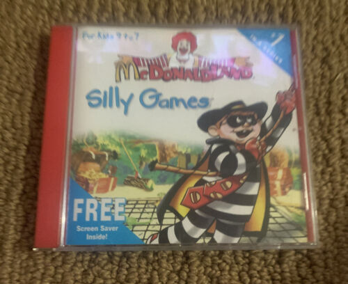 Computer Games - McDonalds Silly Games CD-Rom #1 - Computer Game PC Windows Expert Software 1997