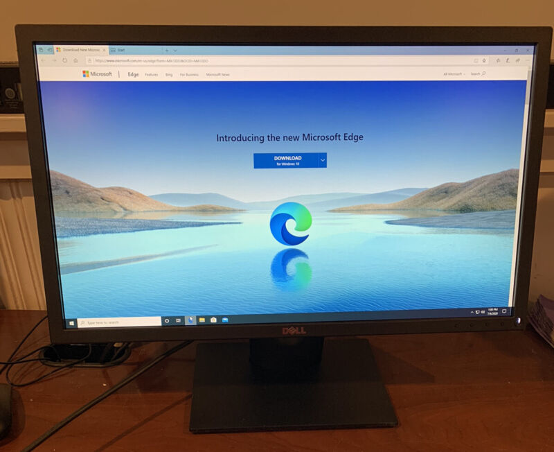 "Dell E2318H 23"" Full HD 1920 x 1080 LED Display With Cords"
