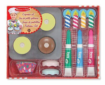 Melissa and Doug 14019 Bake and Decorate Cupcake Set Toy New