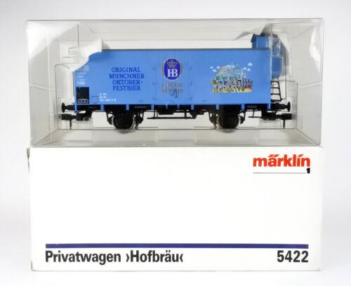 """MARKLIN 1 GAUGE 5422 DB """"HOFBRAU MUNCHEN"""" COVERED GOODS FREIGHT CAR #0283-2"""