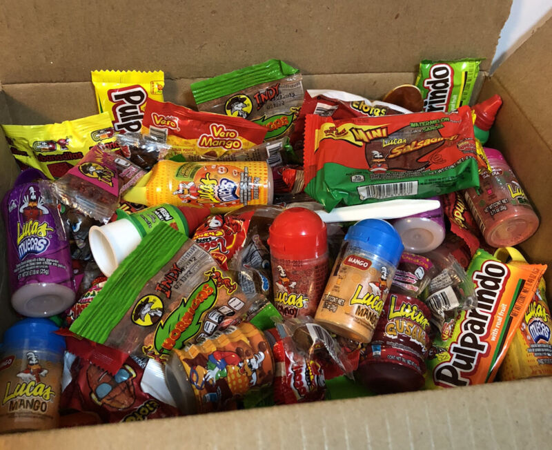 Mexican Candy Mix Box Variety Mix 50 Pieces