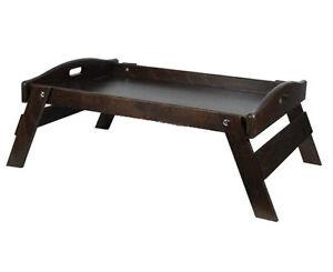Vassoio vassoi per da colazione a letto in legno con piedi - Vassoio colazione letto ...