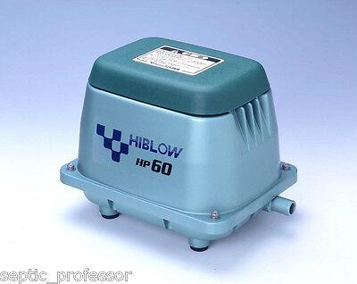 HIBLOW HP-60 HP60 NEW SEPTIC AIR PUMP POND AERATOR DIY