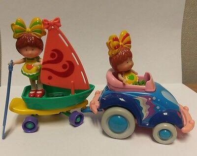 Vintage 1980s Nostalgia Silverlit Toys Bonnie Series Toy Dolls Car Boat Rare HTF