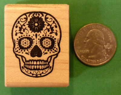 The Day Of Halloween (DAY OF THE DEAD DIA DE LOS MUERTOS  RUBBER STAMP Halloween Magnifico)