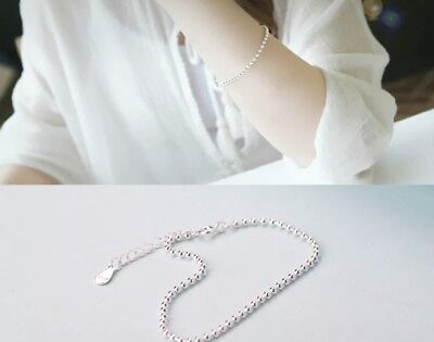 Armband, Armkette, Kugelarmband, 925 Silber, Kugel-2mm, 16cm- 19cm, NEU