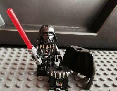 Star War Custom - Darth Vader mit Lichtschwert, detailliertem Brustpanzer uvm. !
