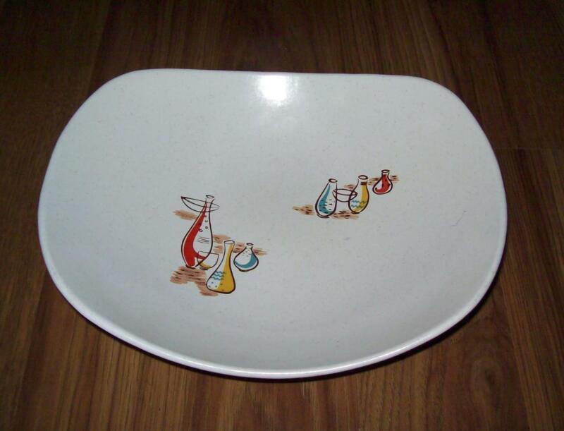 Harmony House El Dorado serving bowl 1950's Southwestern ovenproof MCM